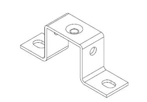 Icotek MF-B30: Mounting Feet for DIN Rails and Bus Bars - 36008