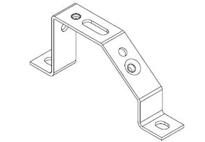 Icotek MF-D49: Mounting Feet for DIN Rails and Bus Bars - 36048