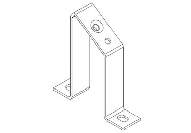 Icotek MF-A88: Mounting Feet for DIN Rails and Bus Bars - 36072