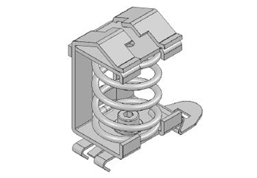 Icotek SF|SK 10-20: EMC Shield Clamp for DIN Rail Shape H - 36504