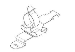 Icotek SFZ|SKL 17-22: EMC Shield Clamp for 35mm DIN Rail - 36875