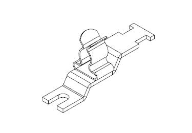 Icotek LFZ-U4|SKL 6-8: EMC Shield Clamp for Screw Assembly - 36886.3