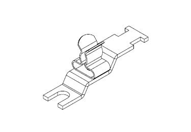 Icotek LFZ-U4|SKL 3-6: EMC Shield Clamp for Screw Assembly - 36887.2