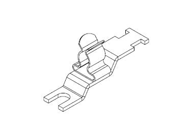 Icotek LFZ-U4|SKL 6-8: EMC Shield Clamp for Screw Assembly - 36887.3