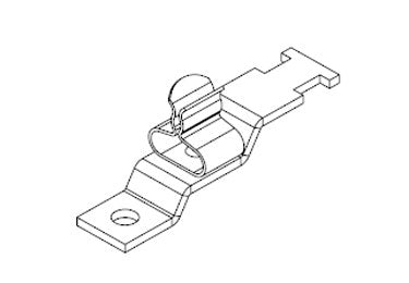 Icotek LFZ|SKL 1.5-3: EMC Shield Clamp for Screw Assembly - 36910