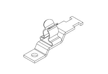 Icotek LFZ|SKL 6-8: EMC Shield Clamp for Screw Assembly - 36920