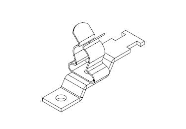 Icotek LFZ|SKL 81: EMC Shield Clamp for Screw Assembly - 36925