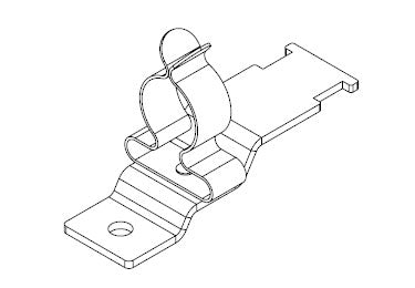 Icotek LFZ|SKL 126: EMC Shield Clamp for Screw Assembly - 36930