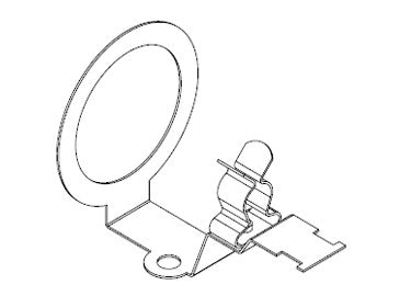 Icotek KVT-EMC-32|SKL 81: EMC Bracket for Cable Glands - 37181.4