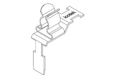 Icotek STFZ2-SP|01: EMC Double Terminal Clamp for Siemens SIMATIC ET 200SP - 37507.01