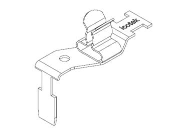 Icotek STFZ2-SP|02: EMC Double Terminal Clamp for Siemens SIMATIC ET 200SP - 37507.02