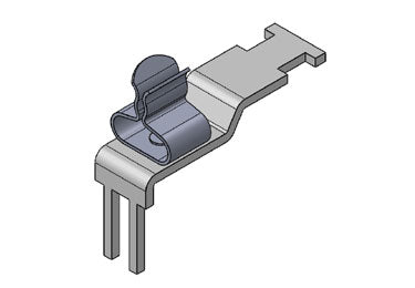 Icotek STFZ-U|SKL 1.5-3: EMC Terminal Clamp for Beckhoff Modules - 37514.1