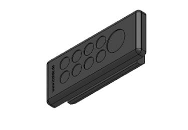 Icotek KEL-DP-E 46|9 bk: Cable Entry Plate - 50587