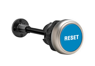 Lovato Electric: Mechanical Reset Button, Complete Unit, Momentary, Flush - LPCR1196