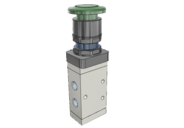 Airtac M5: 5/2 way Control Valve - M5PM21006GT