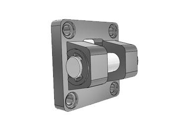 Airtac NSU: Mounting Bracket for Pneumatic Cylinder, NFPA  Standard - F-NSU4MP2