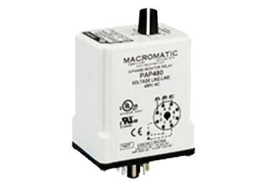 Macromatic PAP: 3 Phase Monitor Relay - PAP480