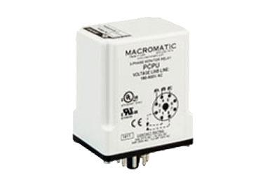Macromatic PCP: 3 Phase Monitor Relay - PCPU