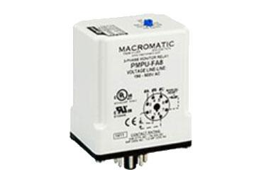 Macromatic PMP-FA8: 3 Phase Monitor Relay - PMPU-FA8