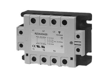 Carlo Gavazzi RZ3A : Solid State Relay, 3 Phase - RZ3A40A25