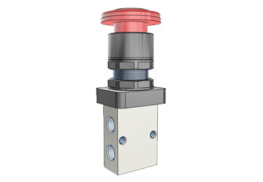 Airtac S3: Control Valve, 3/2 Way - S3PLM5