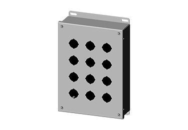 Saginaw Enclosures: Pushbutton Enclosure 30.5mm - SCE-12PB