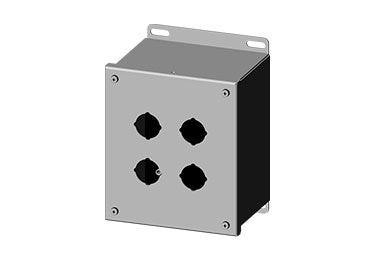 Saginaw Enclosures: Pushbutton Enclosure Extra Deep 30.5mm - SCE-4SPBX