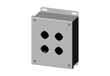 Saginaw Enclosures: Pushbutton Enclosure 30.5mm - SCE-4SPB