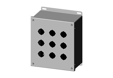 Saginaw Enclosures: Pushbutton Enclosure Extra Deep 30.5mm - SCE-9PBX