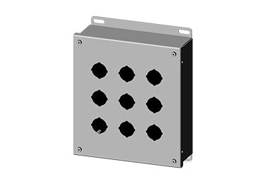 Saginaw Enclosures: Pushbutton Enclosure 30.5mm - SCE-9PB