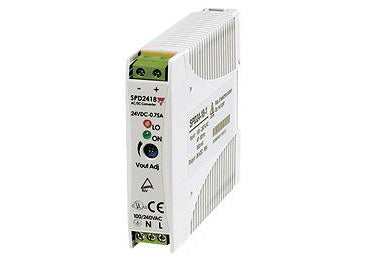 Carlo Gavazzi SPD : Single Phase Power Supply, 18 Watt, 24V DC - SPD24181