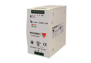 Carlo Gavazzi SPD : Single Phase Power Supply, 240 Watt, 48V DC (Overstock) - SPD482401