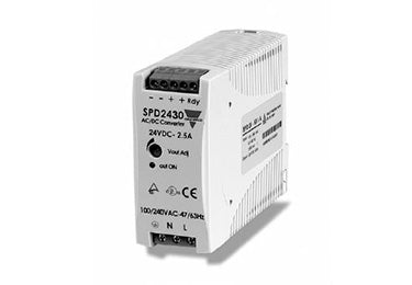 Carlo Gavazzi SPD : Single Phase Power Supply, 30 Watt, 24V DC (Overstock) - SPD24301