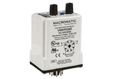 Macromatic VWKP: Voltage Relay - VWKP110D