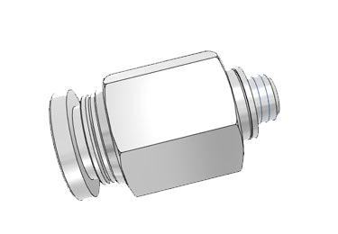 Airtac PC: Push Lock Fitting, Male Connector - PC6M5D