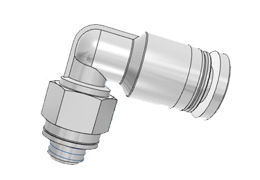 Airtac PL: Push Lock Fitting, Male Elbow - PL602D