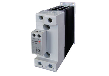 Carlo Gavazzi RGC1A/B: SSR with Integrated Heatsink, 40 Degree C Rating, 40 Amps - RGC1A60D40KGE