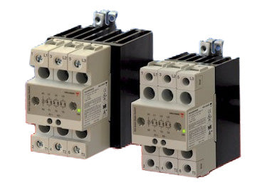 Carlo Gavazzi RGC3: Solid State Contactor 3 Phase with Heatsink - RGC3A60D40GGEDF