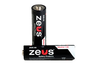 Zeus Battery: AA Battery, 4 Pack