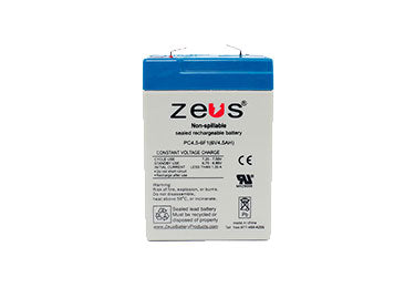 Zeus Battery: PC4.5-6 Battery, Single