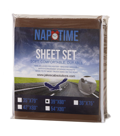 Semi truck sleeper cab  Chocolate Brown Sheet