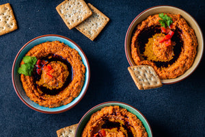 Muhammara / Roasted Red Pepper Dip
