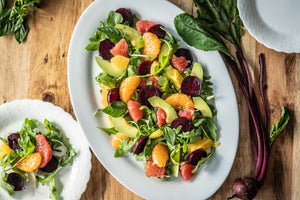 Roasted Beet, Avocado & Citrus Salad