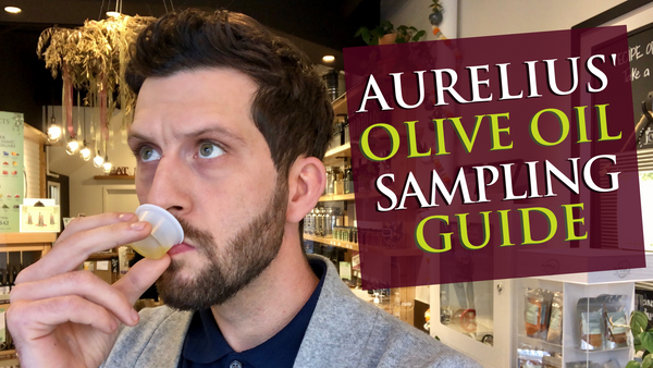 Aurelius Food Co. Guide to tasting olive oil