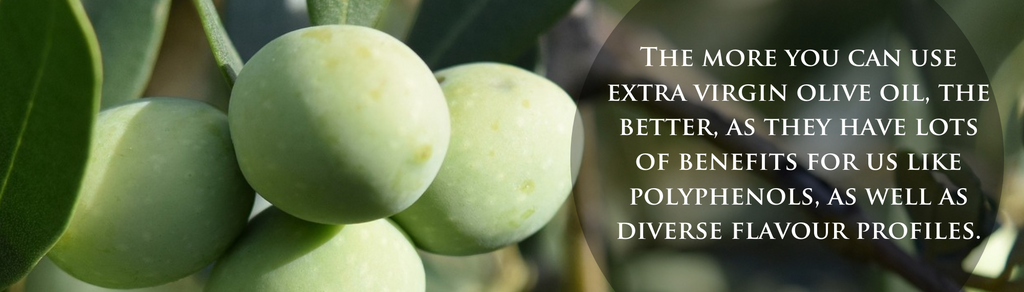 extra virgin olive oil for cooking
