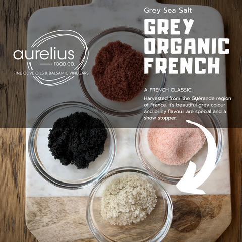 Grey Organic French Sea Salt
