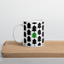Load image into Gallery viewer, Mug-christmas-365-pine-tree-indie-art