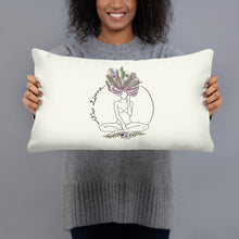 Load image into Gallery viewer, It's time pillow - VARANDA DESIGN