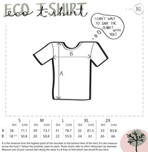 Load image into Gallery viewer, Bee thank you ladies' eco t-shirt - VARANDA DESIGN