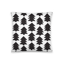 Load image into Gallery viewer, Pillow-christmas-365w-pine-tree-art-18x18(In)-back